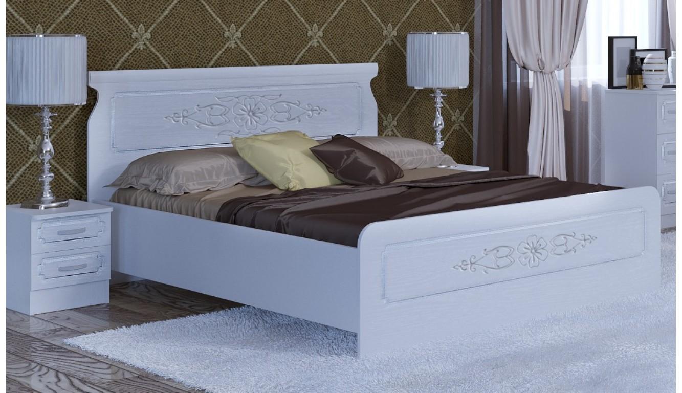 Кровать двуспальная Магнолия 1.6м