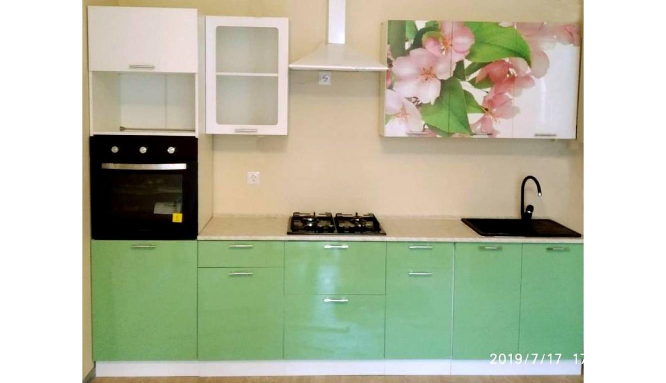 Кухня Яблоневый цвет ЛДСП 2.9м.
