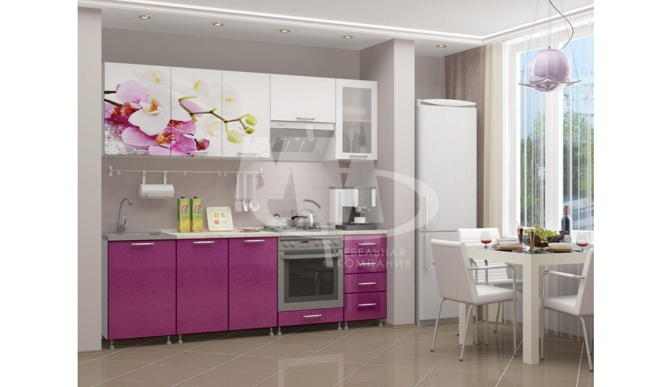"Кухня ""Орхидея МДФ"" 2,3м."