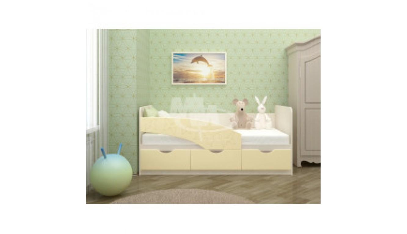 """Кровать детская """"Бабочки"""" 1,4м"""
