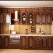 Прямые кухни более 2-х метров