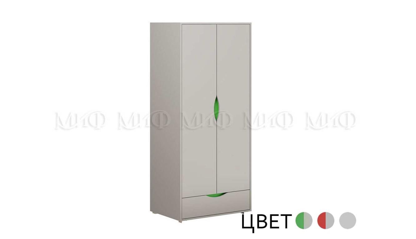 Шкаф распашной с ящиком Неаполь