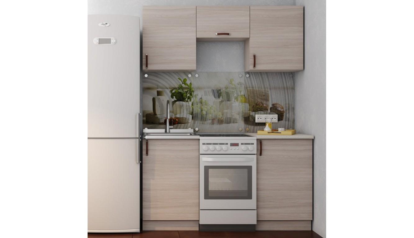 Кухня Ясень светлый 1,5м