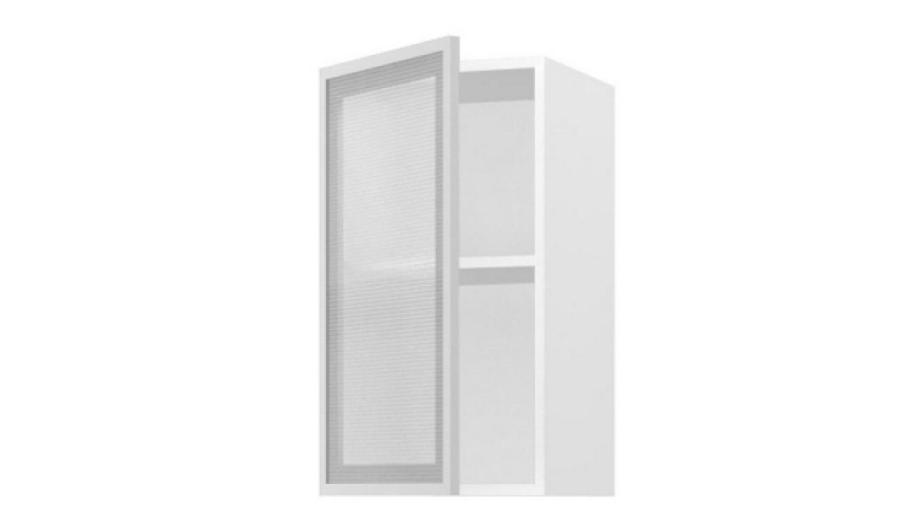 МДФ Шкаф верхний со стеклом (400х716х314)