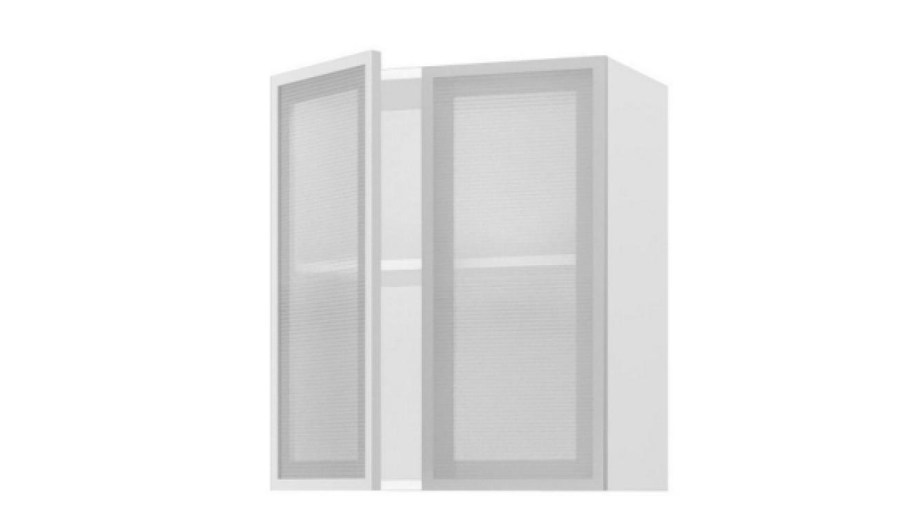 МДФ Шкаф верхний со стеклом (800х716х314)