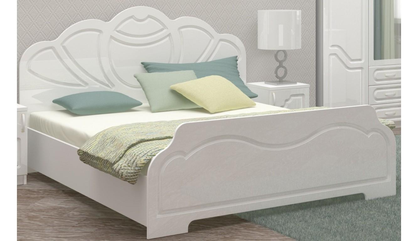 """Кровать двуспальная """"Гармония"""" 1,4м"""