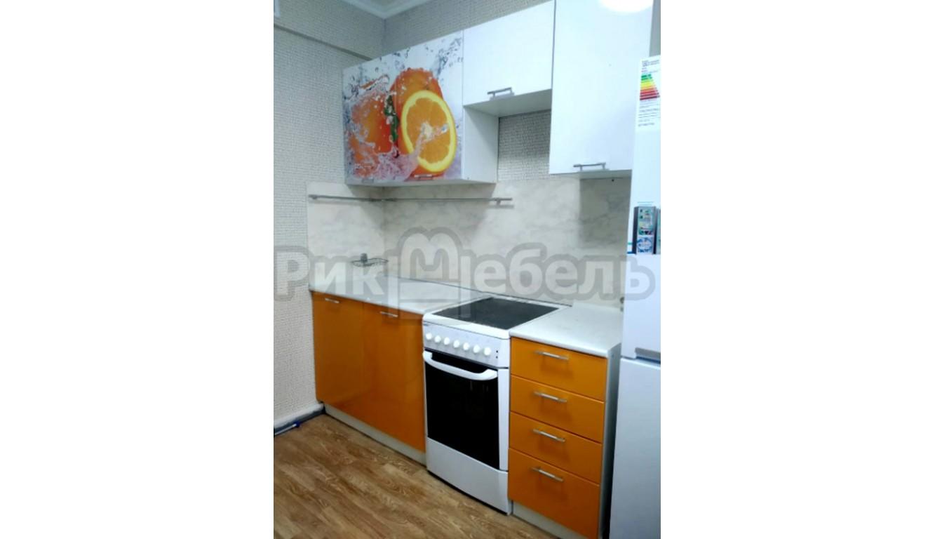 """Кухня """"Апельсин МДФ""""  2 метра"""