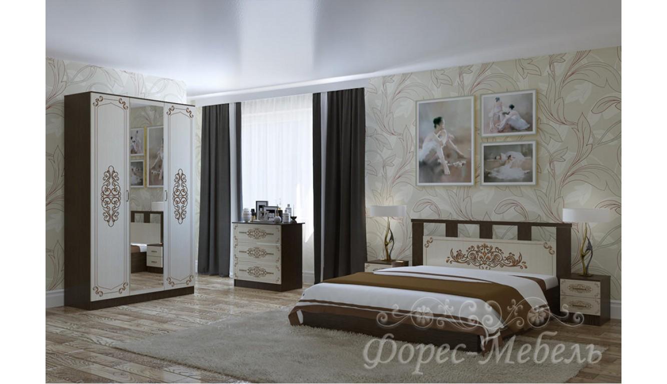 Спальный гарнитур Жасмин  ЛДСП