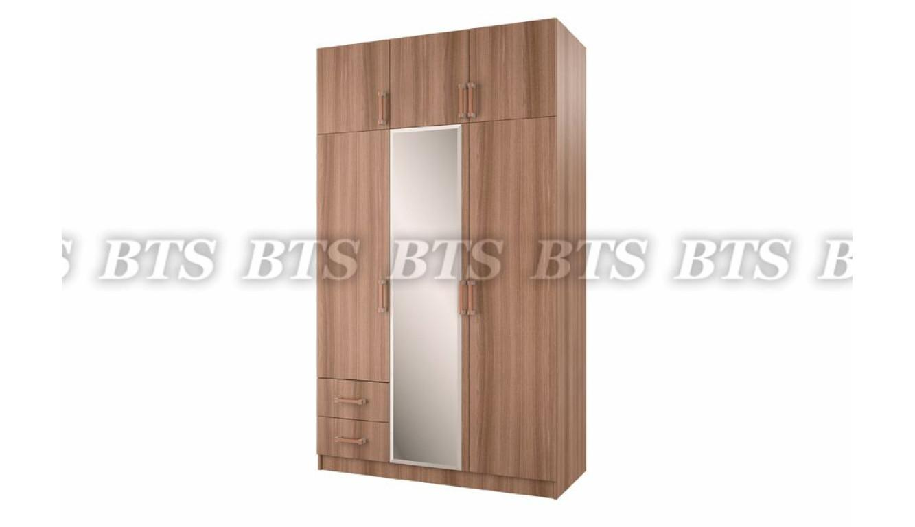 Шкаф 3-х ств с ящиками 1,29 метра
