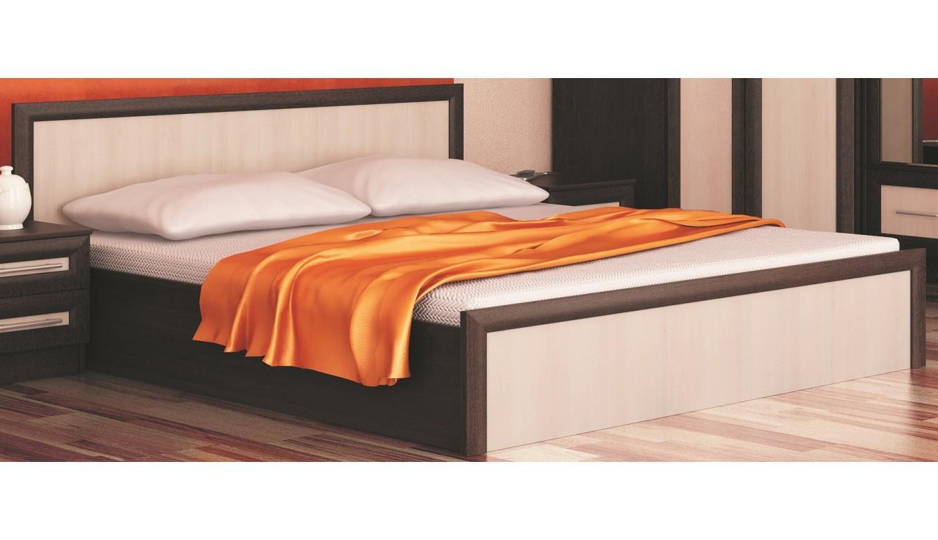 "Двуспальная кровать ""Зиля"" 140х200 см"