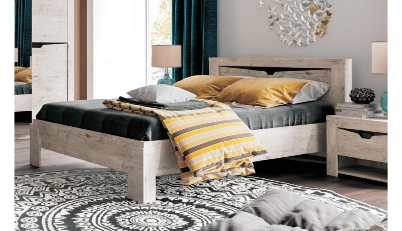 """Двуспальная кровать """"Соренто""""  140х200 см"""