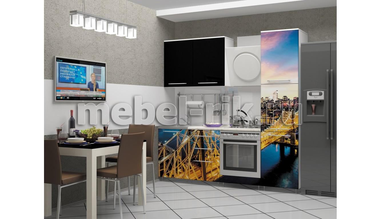"""Кухня """"Город-12"""" 2,1м."""