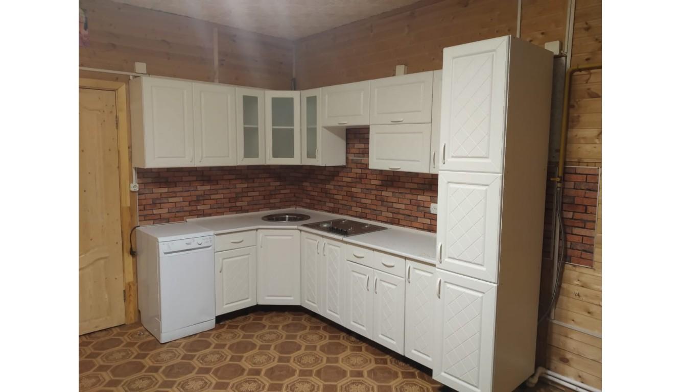 Кухня угловая Айвори 1,85 х 3,05 метра
