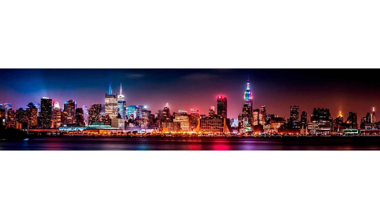 Стеновая панель Огни Нью-Йорка ASP-04