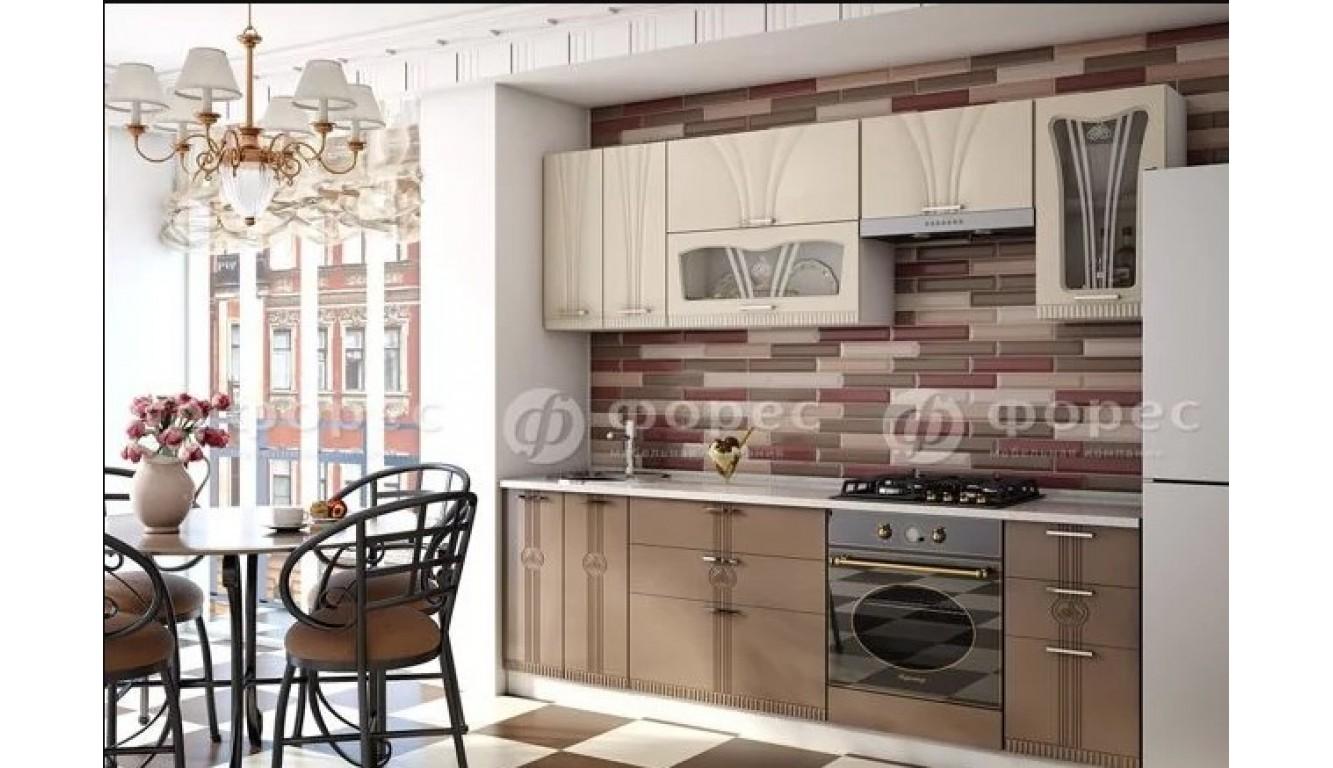 Кухня Палермо МДФ 2.6м