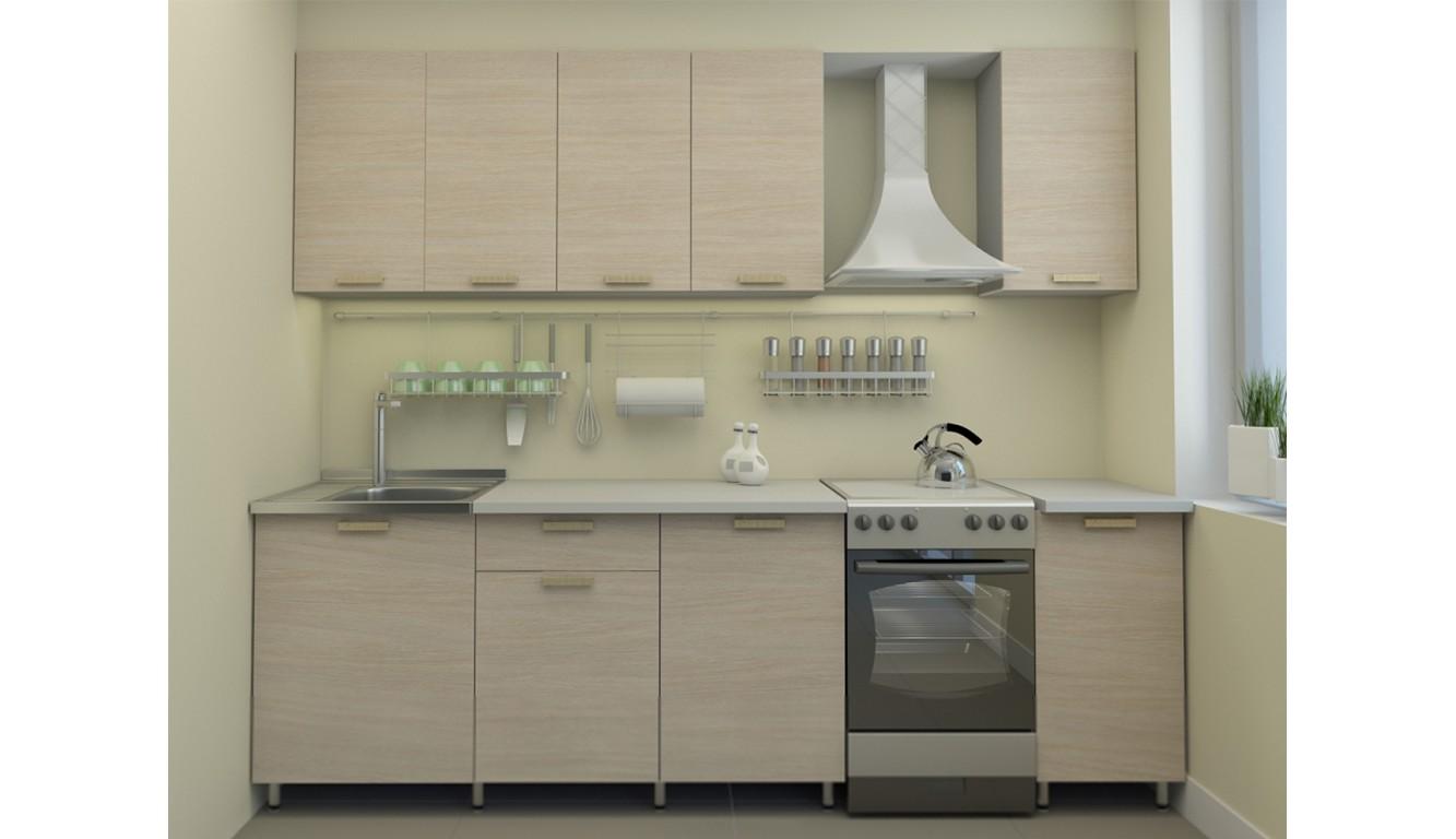 Кухня Ясень светлый 1,8м