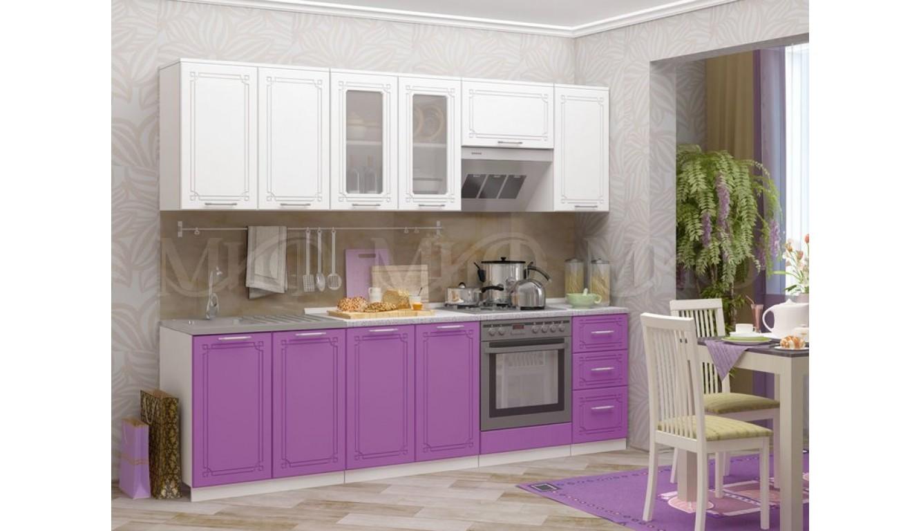 """Кухня """"Ручей МДФ"""" 2,6м."""