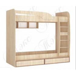 Кровать чердак 2-ярусная Юниор 1