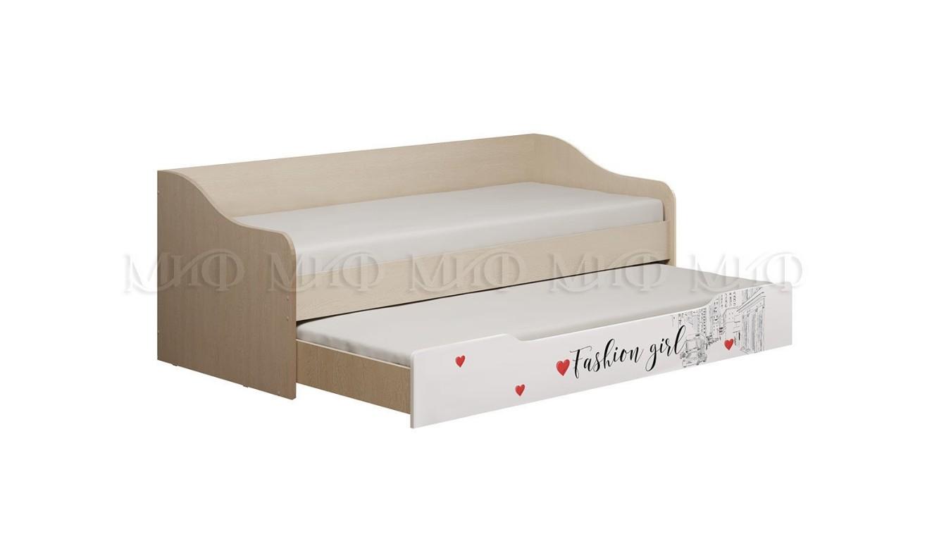 """Детская """"Вега"""" Girl кровать 0,9х2,0м"""