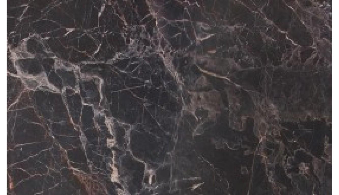 Столешница Мрамор марквина черный (глянец), 38 мм, 3 метра