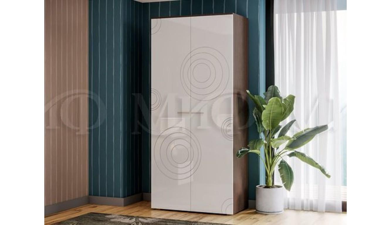 Шкаф платяной (шп600) Ника ясень светлый