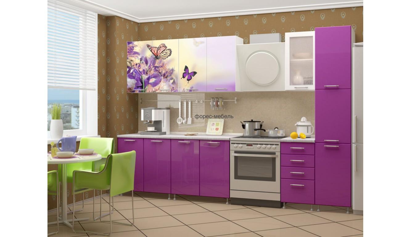 "Кухня ""Бабочки-2"" 2,4м."