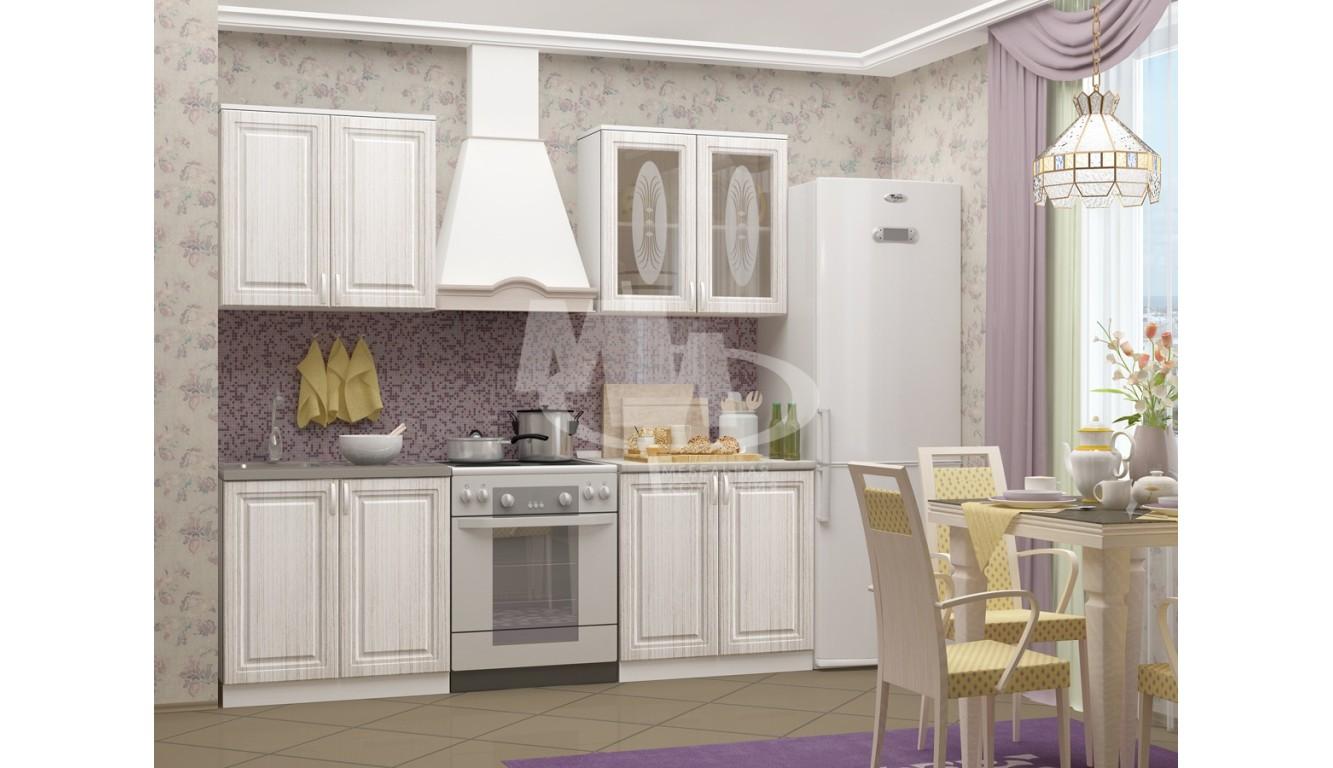 """Кухня """"Констанция МДФ"""" 1,6 м."""