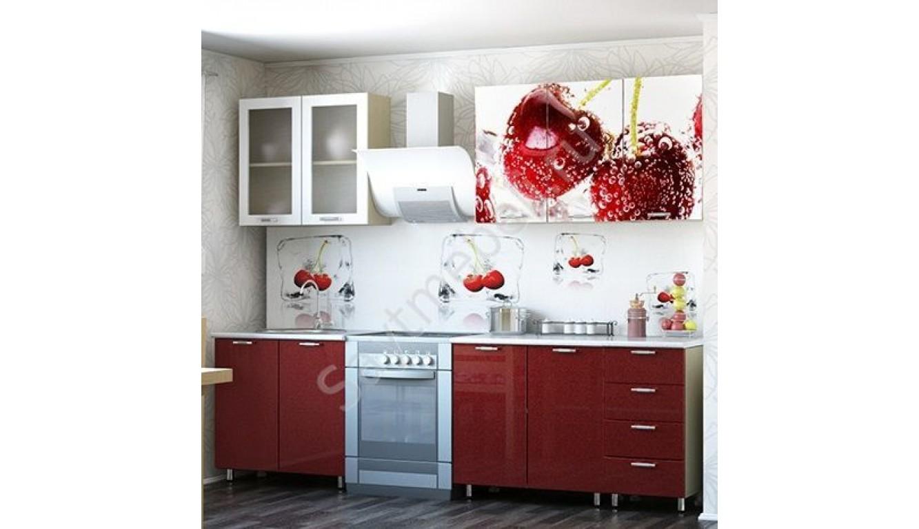 "Кухня ""Черешня МДФ""  2м."