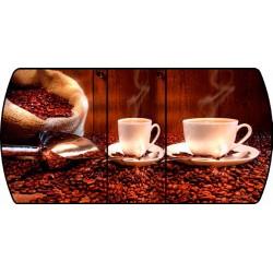Стол кухонный раздвижной Кофе  003