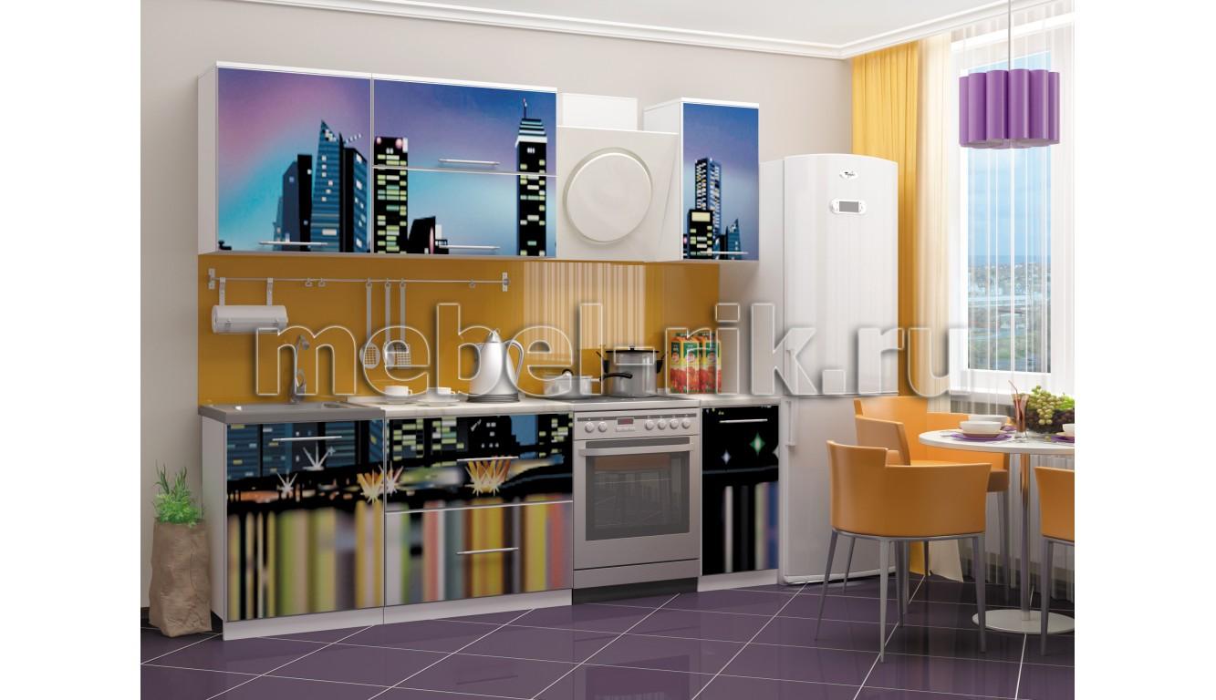 """Кухня """"Город-2"""" 1,8м."""