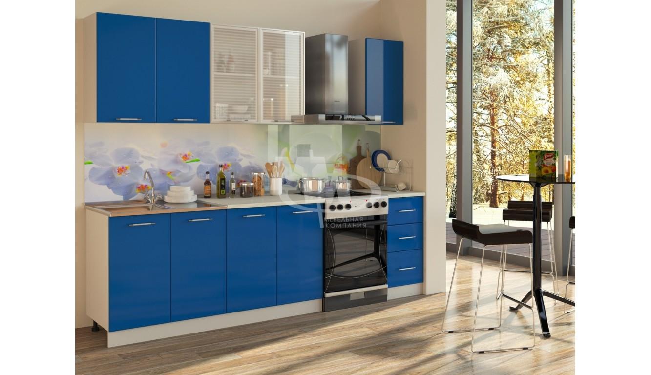 "Кухня""Синий интер ЛДСП"" 1,8м."