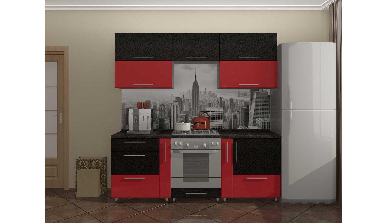 """Кухня """"Сан-Франциско МДФ"""" 2,3 м."""