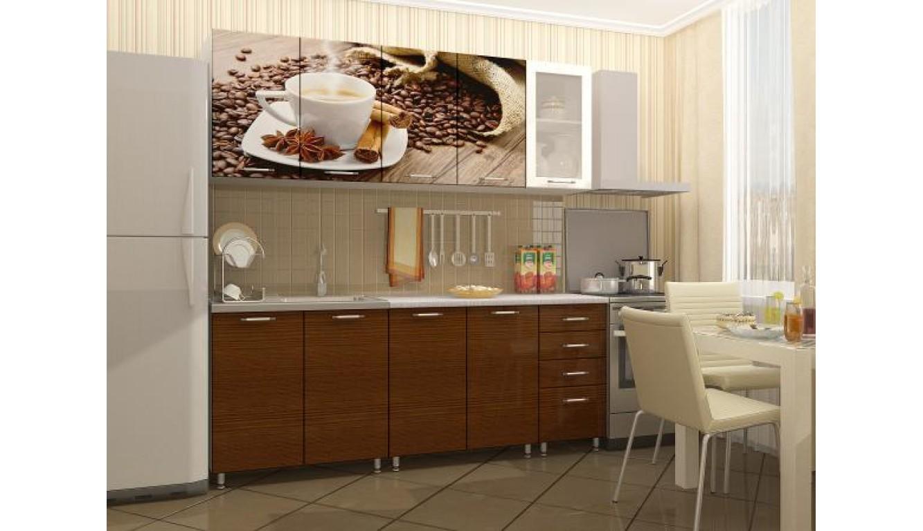 """Кухня """"Кофе ЛДСП"""" 2м."""