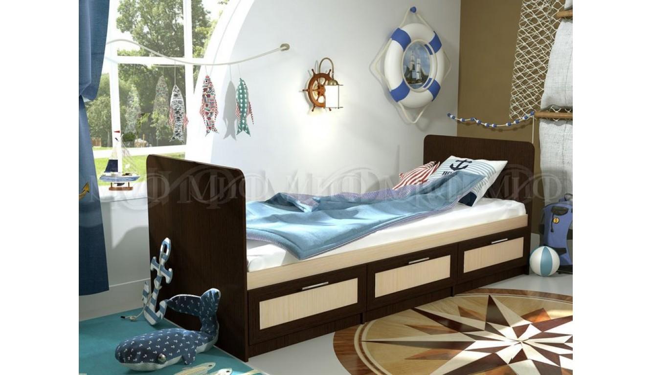 """Детская кровать """"Алекс"""" 0,8 х 2,0 метра"""