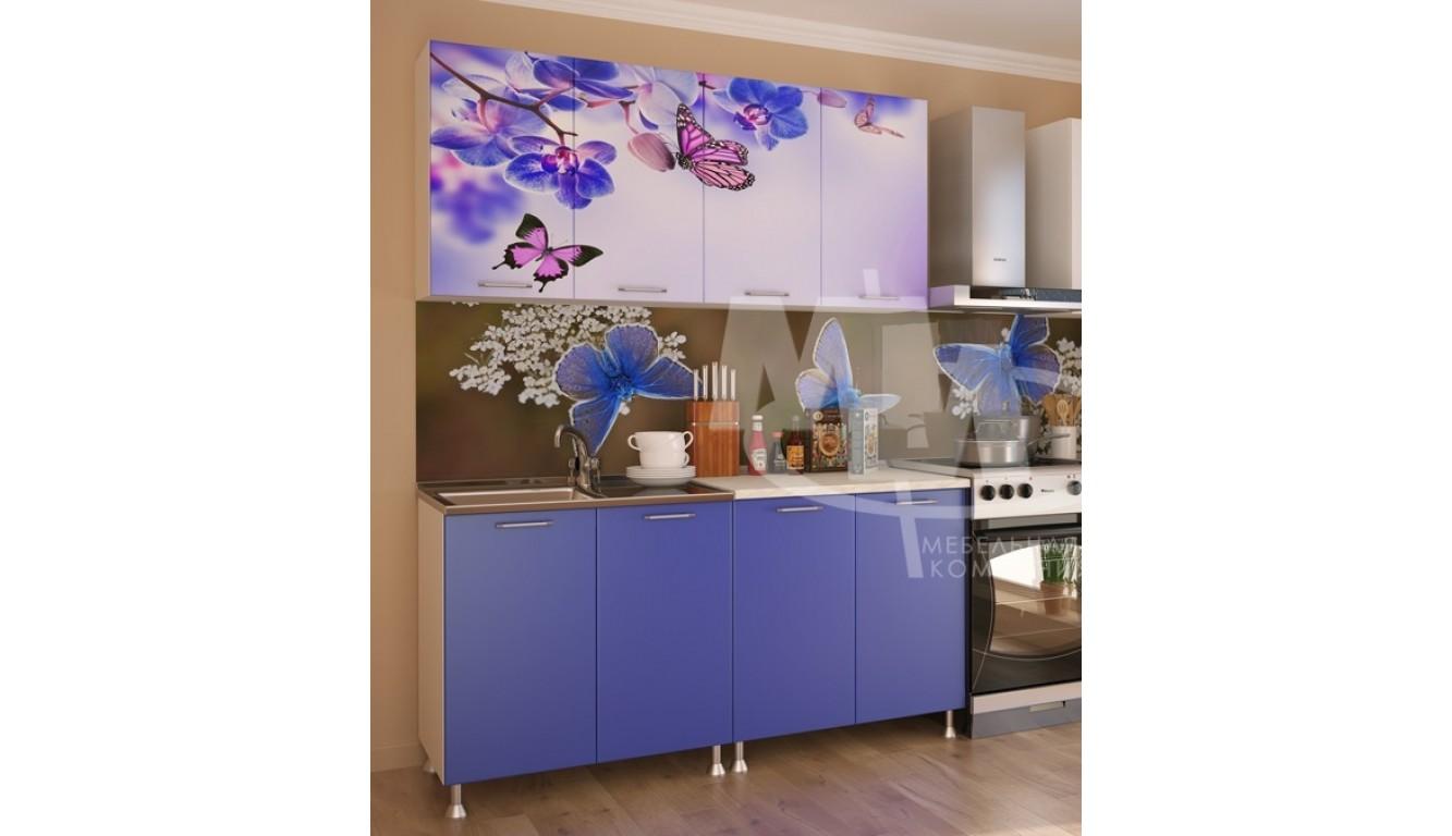 """Кухня """"Бабочки ЛДСП"""" 1,6м."""