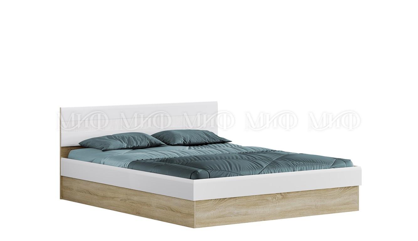 """Кровать двуспальная с подъемным механизмом """"Фортуна"""" 1,6м"""