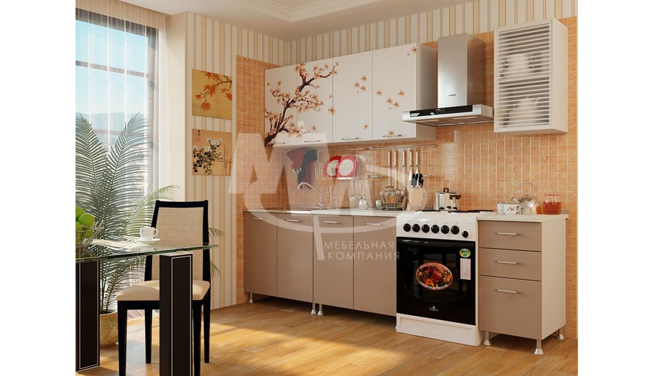 "Кухня ""Сакура МДФ "" 2,м."