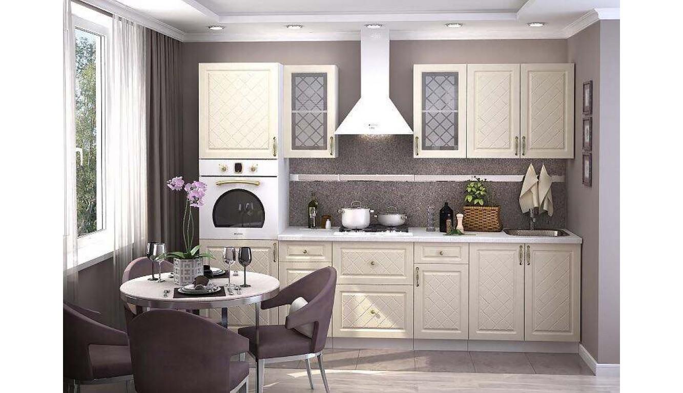 Кухня Ваниль Айвори 2,8м