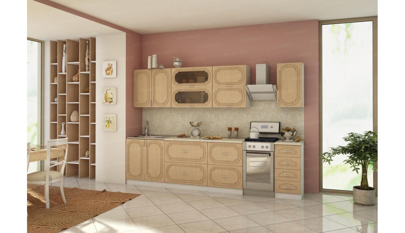 Кухня классическая Настя Береза  МДФ 2.6м