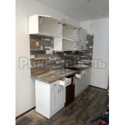 "Кухня ""Айвори МДФ"" 2,4 метра"