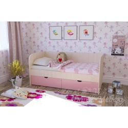 Детская кровать Мальвина 1,6м