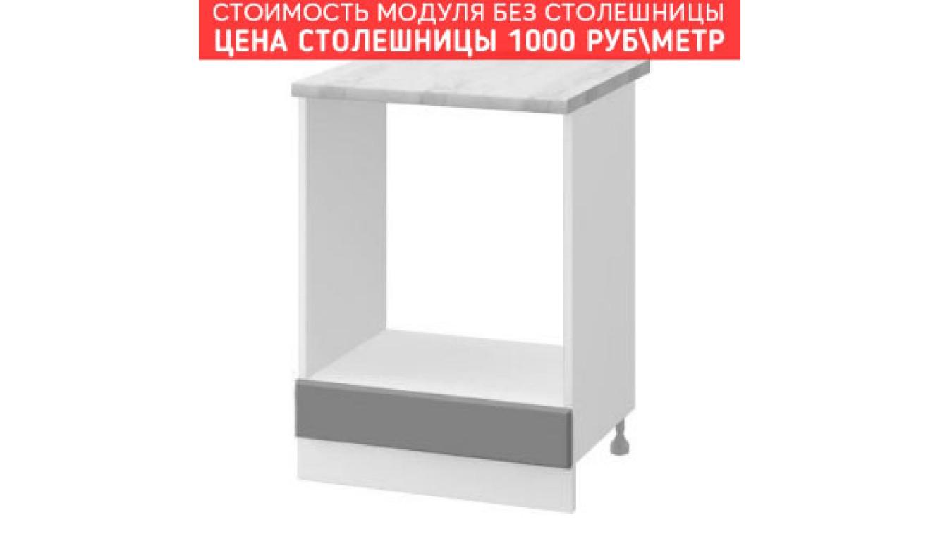 МДФ Шкаф нижний духовой (600х840х474)
