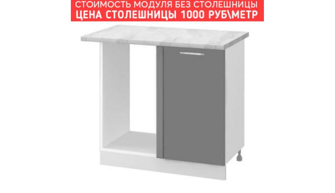 МДФ Шкаф нижний угловой стыковочный (1000х840х474)