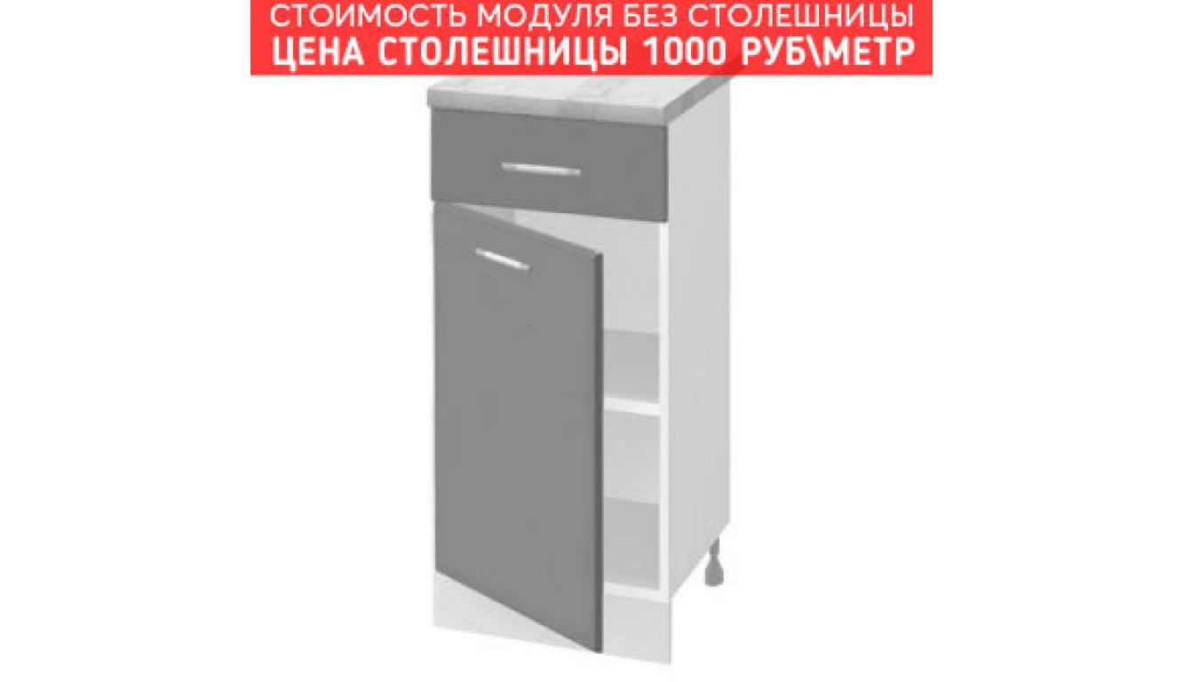 МДФ Шкаф нижний с 1 ящиком (300х840х474)