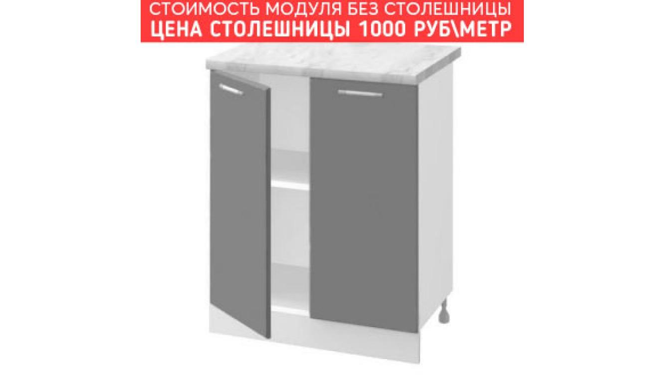 МДФ Шкаф нижний (600х840х474)
