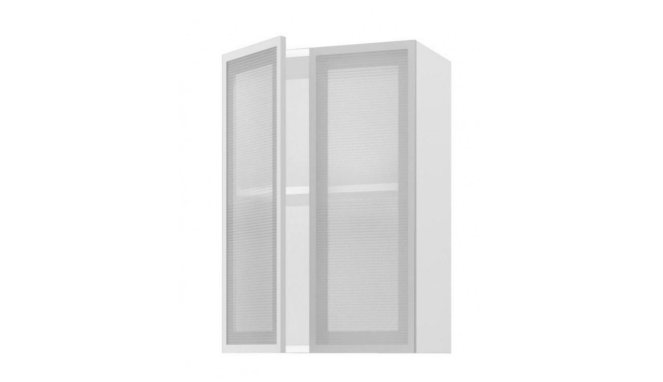 Шкаф верхний высокий стекло 800 купить в Москве