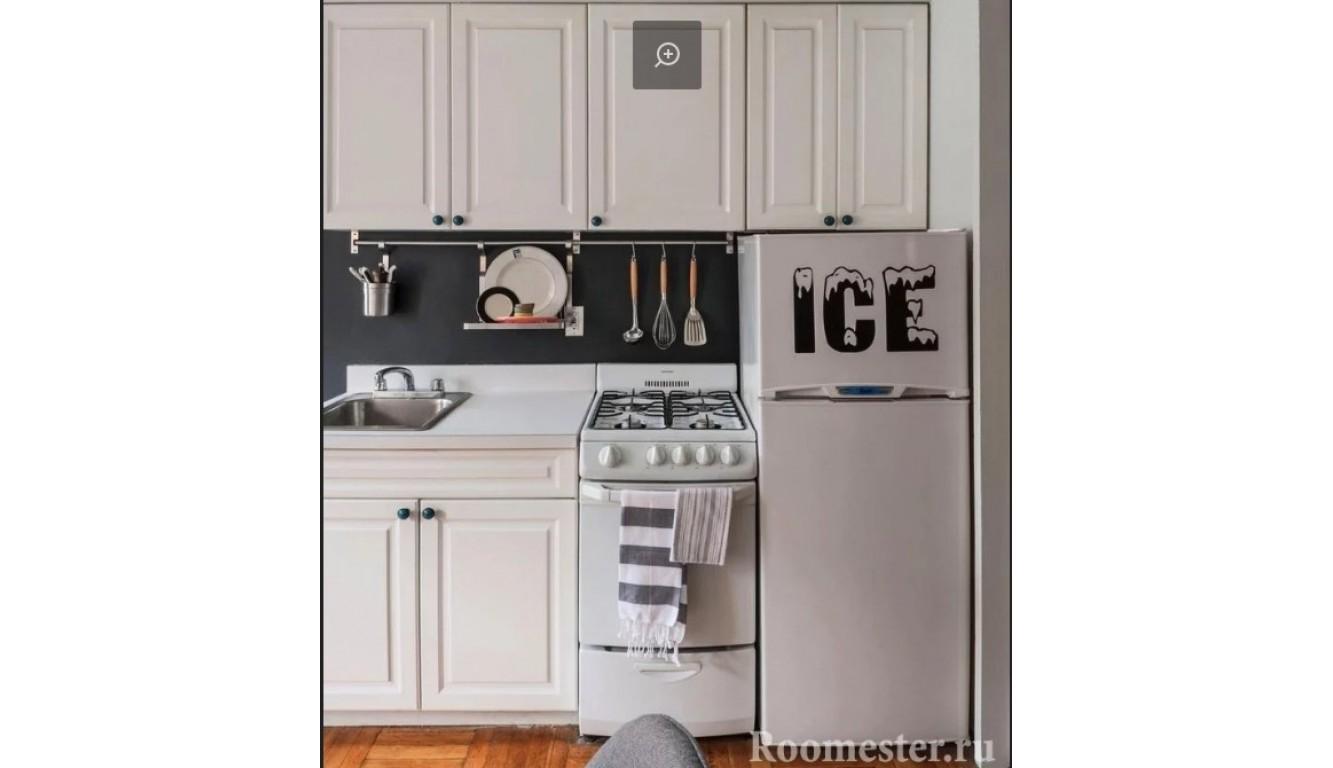 Кухня классическая Квадро белая 1,9м