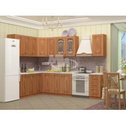 """Кухня """"Лиза 2 МДФ"""" угловая 2,6 м. х 2,4 м."""