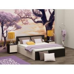 Кровать с матрасом Эконом 1.4х2.0 метра